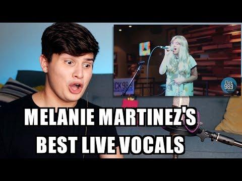 Vocal Coach Reaction to Melanie Martinez Best Live Vocals