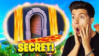 SOMEONE HACKED MY FORTNITE ACCOUNT and Made A Secret Map!
