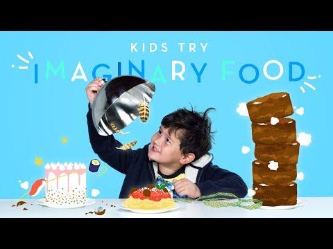 Kids Try Imaginary Food Kids Try HiHo Kids