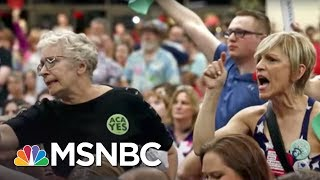 Republicans Skip Public Events Facing Tough Health Care Questions | The 11th Hour | MSNBC