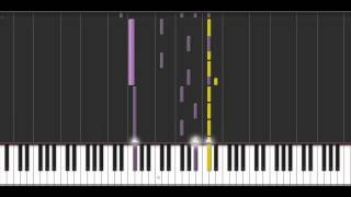 Alone - Synthesia (50% Speed)
