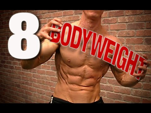 8 Best Bodyweight Exercises Ever (HIT EVERY MUSCLE!)