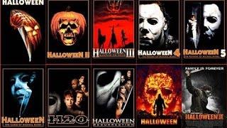 Halloween 1,2,3,4,5,6,7,8,9,10 Trailers 2016