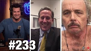 #233 FREE SPEECH WEEK RIOTS! Rick Santorum, Clint Howard and Ann McElhinney | Louder With Crowder