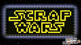 AWESOME STAR WARS CREATIONS! - Scrap Mechanic Gameplay
