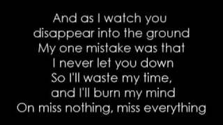 The Pretty Reckless - Miss Nothing (better quality sound + lyrics)