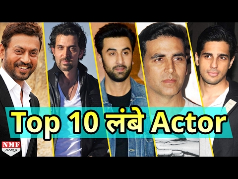 Bollywood के Top 10 लंबे Actor और उनकी Height । Must Watch!!!