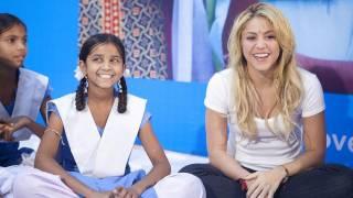 Shakira Promotes Girls' Education | UNICEF