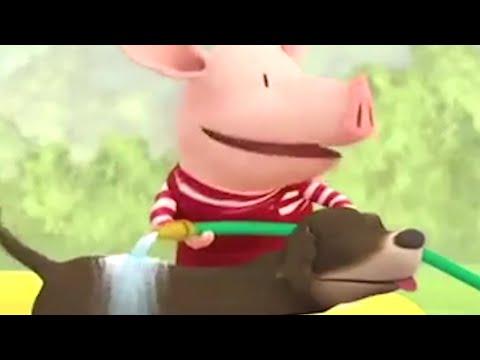 Olivia the Pig | Olivias Dog Wash | Olivia Full Episodes | Cartoons for kids