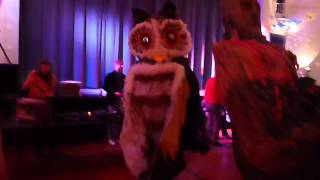 PUPPET PROM 2014 - Squallis Puppeteers,Not the Illuminati Owl god Moloch.