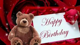 Happy Birthday Song With Teddy Bear
