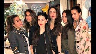 Kareena Kapoor Parties With Karisma Kapoor, Amrita Arora, Malaika Arora Khan