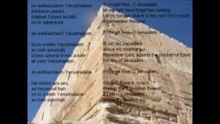 Im Eshkachech Yerushalayim Yossi Azulay
