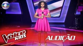 Nuyanne Aires canta 'Esse amor tão errado' na Audição – The Voice Kids Brasil | 2ª Temporada