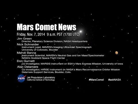 Mars Comet News