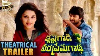 Krishna Gadi Veera Prema Gadha Theatrical Trailer || Nani, Mehareen - Filmy Focus
