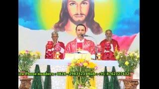 Holy Eucharist Celebrated on 14.05.2016 By Rev.Fr.Anil Fernandes SVD at Divine Call Centre Mulki