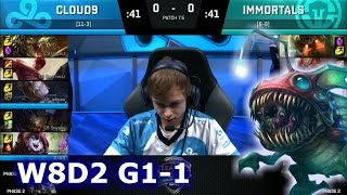Cloud 9 vs Immortals Game 1 | S7 NA LCS Spring 2017 Week 8 Day 2 | C9 vs IMT G1 W8D1 1080p