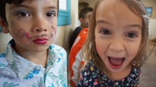 MY BROTHER WEARS MAKEUP | Sister Does Brother's Makeup