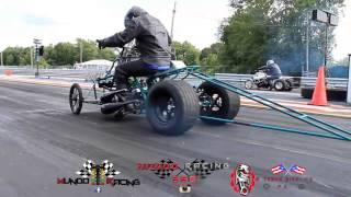 Yamaha banshee drag racing elproblematico racing / 4track bikelife pr