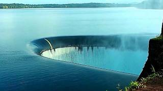 RAINBOW at SINK HOLE, Salaulim Dam overflows (TOP VIEW POINT) , GOA
