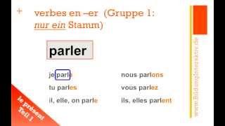 Le Présent  (Teil 1): les verbes en
