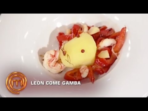 León come gamba   MasterChef 3
