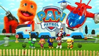 Paw Patrol full episodes english for kids Chase Truck Toy Nick Jr. Stop Motion