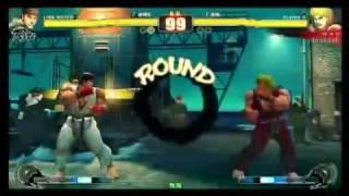 SF4:Suneohead (Ry) vs Wao (Ke) - Esaka Navel - 13-06-2009