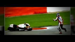 Video Detik - Detik Kecelakaan MotoGP inggris british 2016