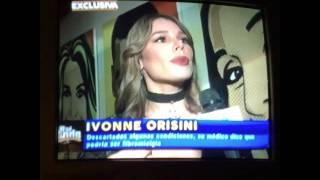 Lo sé todo habla con Ivonne Orsini