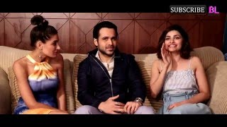 Azhar's Emraan Hashmi, Nargis Fakhri and Prachi Desai take the compatibility test and it's HILARIOUS