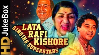 Lata Rafi Kishore - Singing Superstars | Classic Bollywood Evergreen Songs | Old Hindi Songs