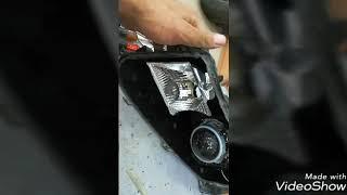 أفضل حل لضعف أنوار فورد ادج 2011 مهندس عصام محل تكنولوجيا السيارات للزينون والعدسات 0507729434