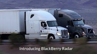 Introducing BlackBerry Radar