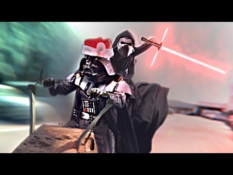 Darth Santa STRIKES BACK