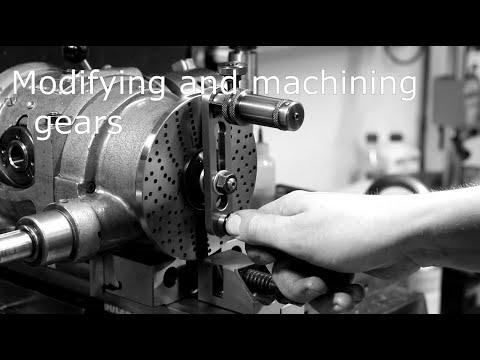 Modifying and machining gears