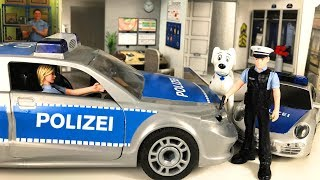 Playmobil Toy Police Station- Build and Play Police Playmobil Toys
