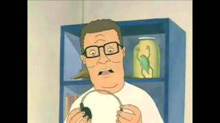 Hank Hill listens to someone with a medical disorder