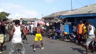 Ghana Street boxing