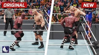 WWE 2K18 Top 10 New Move Variations #8