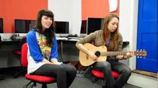 Fran and Jade Performing Hold Back- Jade Hunt
