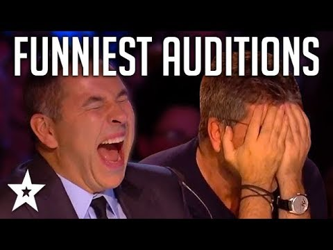 TOP 10 FUNNIEST Auditions And Moments EVER On Britain s Got Talent Got Talent Global