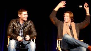 Jared and Jensen on Weird/Funny Things That Happened on Set