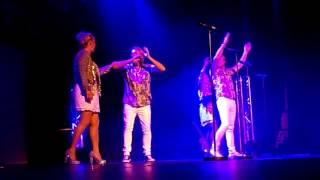 Cheryl, Mike & Jay formerly of bucks fizz - 80s medley sevenoaks