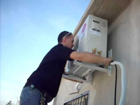 Instalación aire acondicionado LG Pictórico Parte 7