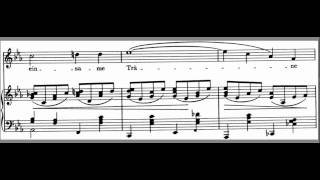 Die Mainacht Accompaniment Johannes Brahms  LOW key Eb