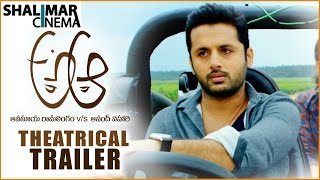 A Aa Movie Theatrical Trailer || Nithin, Samantha ,Trivikram || Shalimarcinema