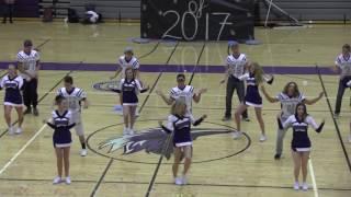Cheerleader and Football Dance 2016