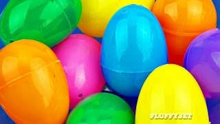 Learn Colors with Surprise Eggs for Kids | Play & Learn with Toys Shopkins Cars 2 Lalaloopsy